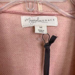 Magnolia Grace Quinley Open Drape Cardigan NWT